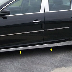 Chevrolet Malibu Chrome Rocker Panel Trim 2013 2014