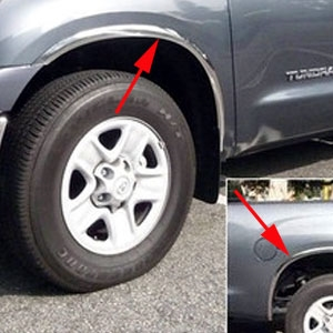Toyota Tundra Chrome Wheel Well Fender Trim 2014 2015