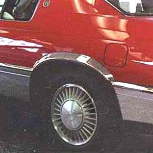 Cadillac Eldorado Wheel Well Fender Trim Set 1992 1993