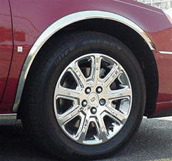 Cadillac Deville Dts Dhs Chrome Wheel Well Fender Trim