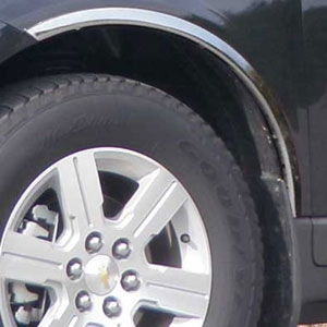 Chevrolet Traverse Chrome Wheel Well Fender Trim 2009