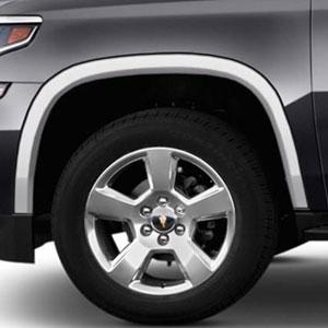 Chevrolet Suburban Chrome Wheel Well Fender Trim 2015