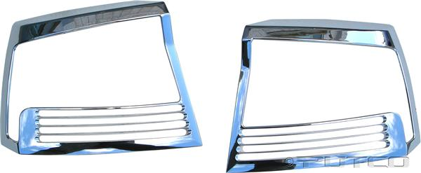 Dodge Charger Chrome Tail Light Bezels